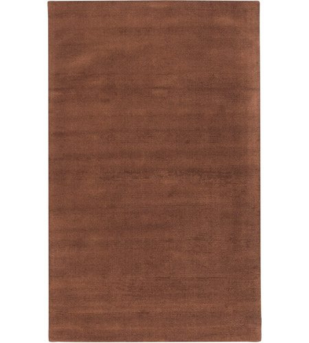 Surya M334-58 Mystique 96 X 60 inch Dark Brown Rugs, Wool photo