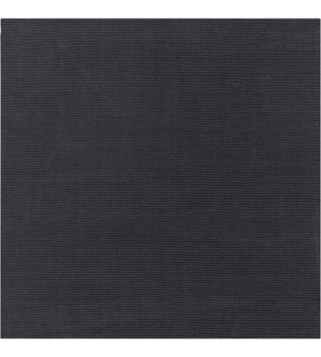 Surya M341-99SQ Mystique 117 X 117 inch Charcoal Rugs, Wool photo