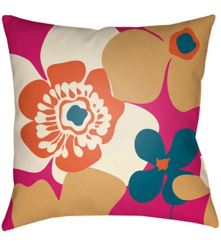 Surya Md037 2222 Moderne 22 X 22 Inch Orange And White Outdoor