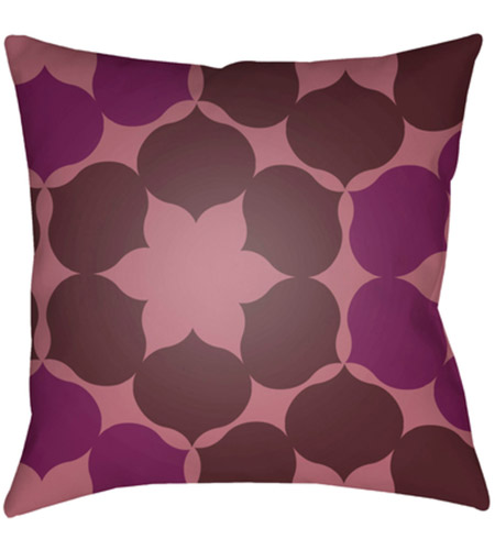 Surya MD054-2222 Moderne 22 X 22 inch Purple and Pink Outdoor Throw Pillow photo
