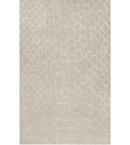Surya MDR1025-58 Moderne 96 X 60 inch Neutral and Neutral Area Rug, Wool photo