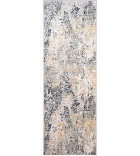 Surya MLN2303-6996 Milano 114 X 81 inch Light Gray/Charcoal/Mustard/Medium Gray/White Rugs photo