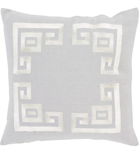 Surya MLO001-2020 Milo 20 X 20 inch Grey and Beige Pillow Cover photo