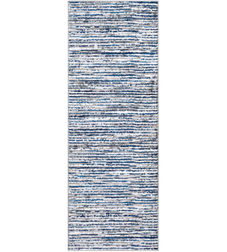 Surya MNC2309-53SQ Monte Carlo 63 X 63 inch Navy/Sky Blue/Charcoal/Light Gray/White Rugs photo