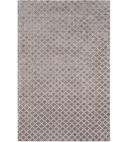 Surya MOA1006-23 Molana 36 X 24 inch Gray and Gray Area Rug, Tencel and Cotton photo