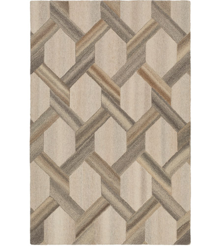 Surya MOI1014-810 Mountain 120 X 96 inch Yellow and Neutral Area Rug, Wool photo