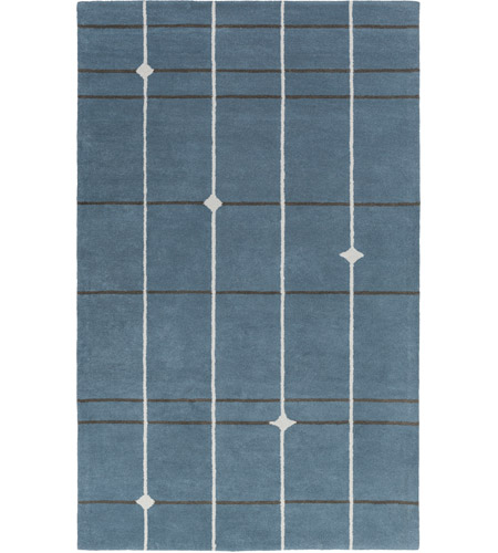 Surya MPP4509-23 MOD POP 36 X 24 inch Blue and Gray Area Rug, Wool photo