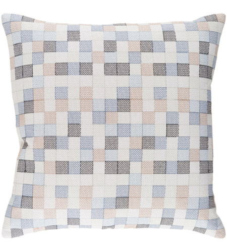 Surya MUL002-2020D Modular 20 X 20 inch Denim and Navy Pillow photo