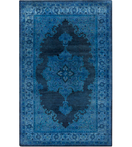 Surya MYK5011-1616 Mykonos 18 X 18 inch Bright Blue Indoor Area Rug, Sample photo