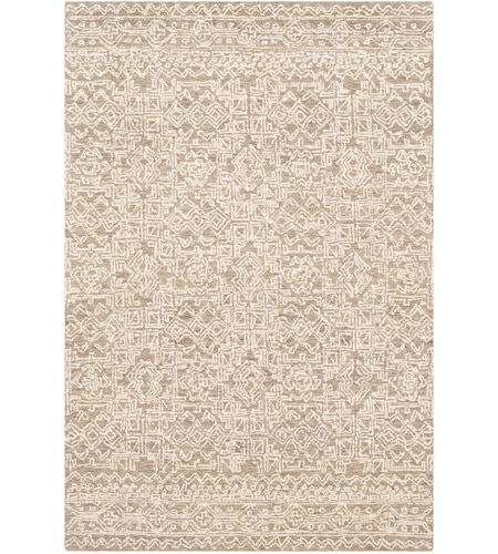 Surya Ncs2309 912 Newcastle 144 X 108 Inch Taupe Cream Rugs