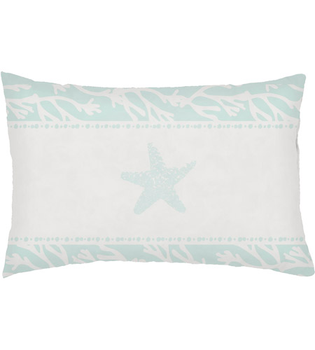 Surya Phdst001 1424 Seasalt And Starfish Green Outdoor Holiday Throw