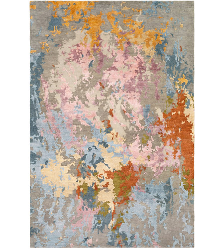 Surya RTE2300-913 Arte 156 X 108 inch Camel and Wheat Area Rug, Rectangle photo