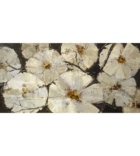 Surya RWL3057-3060 Floral Patch 30 inch Art Print, Rectangle photo