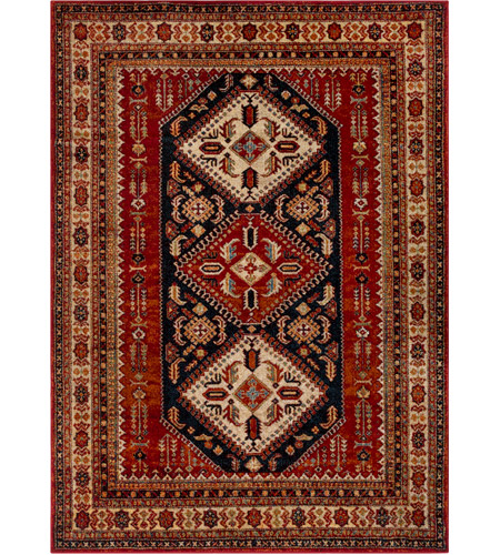 Surya Srp1006 6796 Serapi 114 X 79 Inch Red And Brown Area