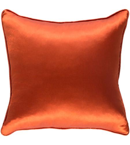 Surya Tkyo7204 1818 Tokyo 18 X 18 Inch Burnt Orange Pillow Cover