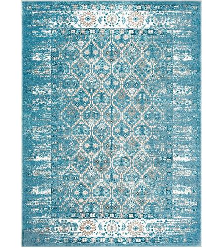 Surya Var2300 23 Varanasi 35 X 24 Inch Dark Blue Pale Camel Teal Medium Gray White Rugs Rectangle