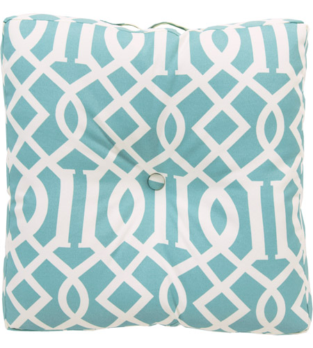 Surya Zz417 2222fc Storm 22 X 22 Inch Blue And Off White Outdoor