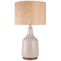 Surya ALLP-001 Allen 26 inch 100 watt Gray Table Lamp Portable Light