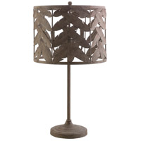 Apache 16 inch 40 watt Natural Table Lamp Portable Light