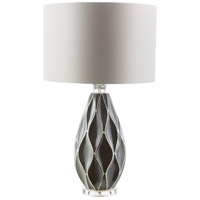 Bethany 28 inch 100 watt Grey Table Lamp Portable Light
