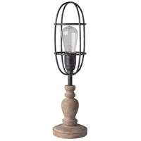 Bolton 19 inch 25 watt Antiqued Table Lamp Portable Light
