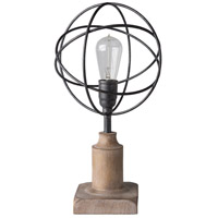 Surya BTO-101 Bolton 18 inch 40 watt Antiqued Table Lamp Portable Light