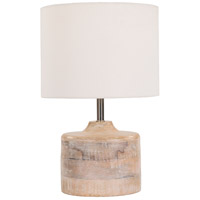 Coast 10 inch 60 watt Natural Table Lamp Portable Light