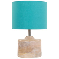 Coast 15 inch 60 watt Natural Table Lamp Portable Light