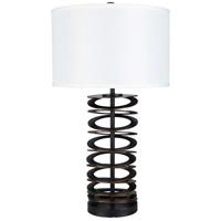 Surya CHP-001 Chap 29 inch 100 watt Bronzed Table Lamp Portable Light