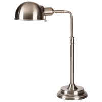 Colton 19 inch 60 watt Brushed Steel Table Lamp Portable Light