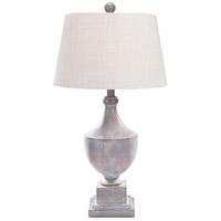 Surya ERLP-002 Eleanor 28 inch 100 watt Gray Washed Table Lamp Portable Light