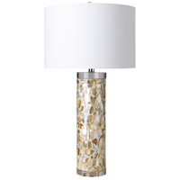 Surya EYS-100 Elysee 28 inch 100 watt Inlaid Table Lamp Portable Light