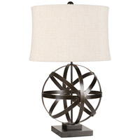 Signature 29 inch 100 watt Bronze Table Lamp Portable Light