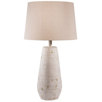 Surya MGLP-001 Maggie 26 inch 100 watt Antiqued White Table Lamp Portable Light