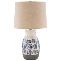 Surya OCT-001 Octavia 100 watt Beige/White/Medium Gray/Dark Blue Table Lighting Portable Light