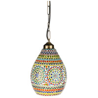 Surya SIN-003 Santillian 1 Light 9 inch Pendant Ceiling Light