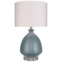 Surya WEY-101 Weymonth 16 inch 100 watt Painted Table Lamp Portable Light