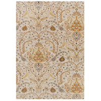 Ancient Treasures 156 X 108 inch Neutral and Gray Area Rug, Wool