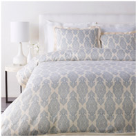 Surya AAL4004-KSET Alia Navy and Khaki Duvet Set, King or CA King thumb