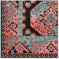 Arabia 72 X 48 inch Bright Pink Indoor Area Rug, Rectangle