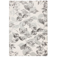 Aberdine 90 X 62 inch Gray and Gray Area Rug, Polypropylene