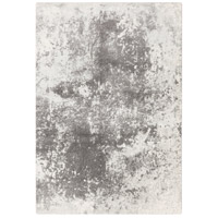 Aberdine 36 X 26 inch Gray and Gray Area Rug, Polypropylene