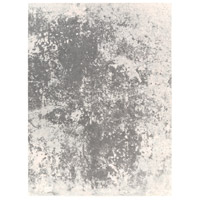 Aberdine 126 X 90 inch Gray and Gray Area Rug, Polypropylene