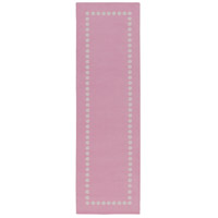 Abigail 96 X 30 inch Pink and Neutral Area Rug, Polyester