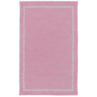 Abigail 96 X 60 inch Pink and Neutral Area Rug, Polyester