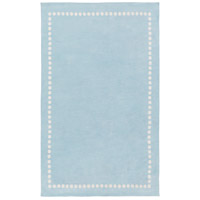 Abigail 96 X 60 inch Blue and Neutral Area Rug, Polyester