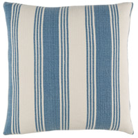 Surya ACB001-1818 Anchor Bay 18 X 18 inch Navy and Off-White Pillow Cover