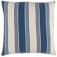 Surya ACB004-1818 Anchor Bay 18 X 18 inch Navy and Off-White Pillow Cover