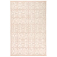 Adeline 90 X 60 inch Neutral and Neutral Area Rug, Wool, Viscose, and Cotton