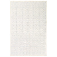 Adeline 90 X 60 inch Blue and Neutral Area Rug, Wool, Viscose, and Cotton